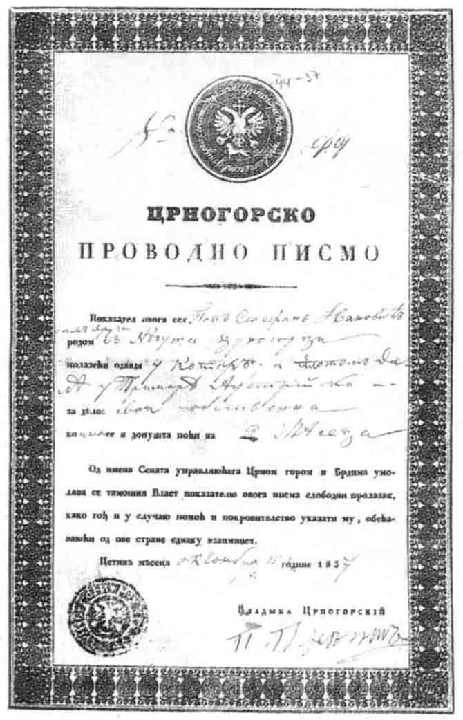 Montenegro online visa